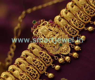 one-gram-gold-plated-nagas-nakshi-temple-laxmi-vaddanam-oddiyanam-flexible-latest