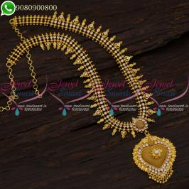 LONG NECKLACE GOLD PLATED JEWELLERY NEW FASHION ONLINE SUPPLIERS