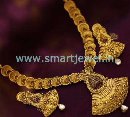 one-gram-jewellery-antique-gold-plated-jadau-kundan-real-gold-look-necklace-set-on